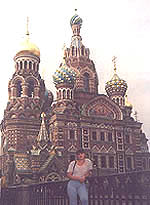 The Cathedral of the          Resurrection, Nevsky Prospect, St Petersburg